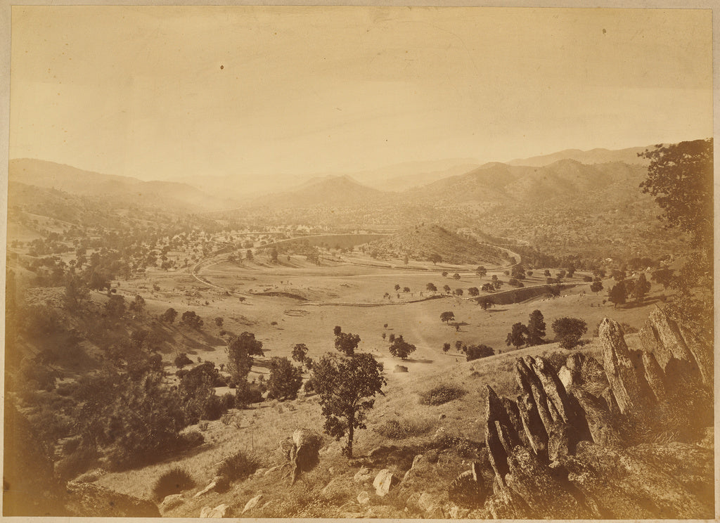 Carleton Watkins:The Loop, S.P.R.R.,16x12