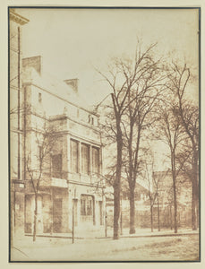 "Hippolyte Bayard:[Street lined with bare trees],16x12""(A3)Poster"