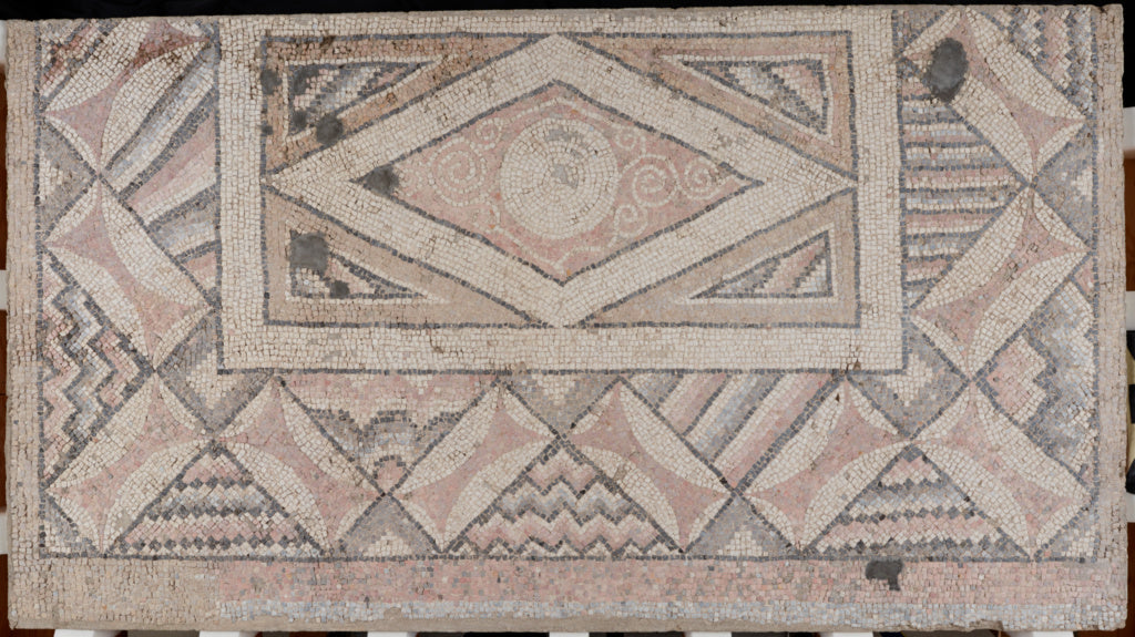 Unknown:Panel from a Mosaic Floor from Antioch (right end; p,16x12