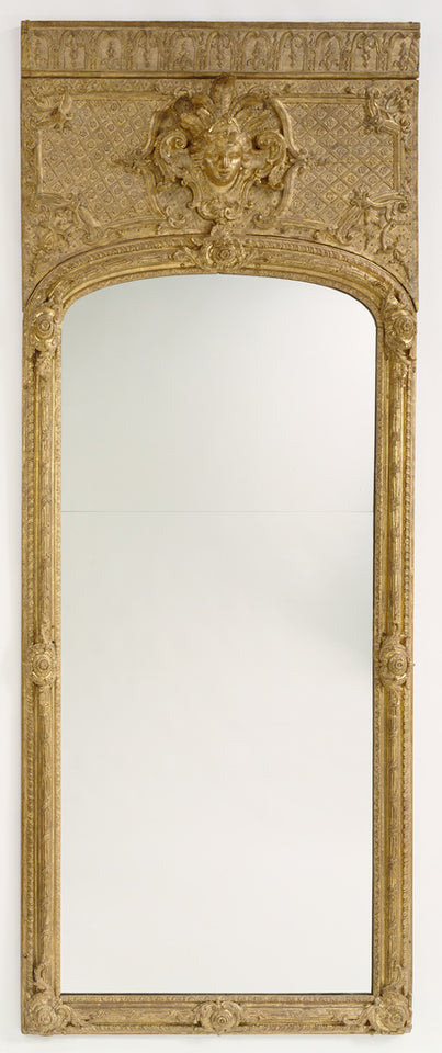 "Unknown:Antique frame with modern mirror glass,16x12""(A3)Poster"