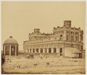 "Felice Beato:[The Musabagh, Lucknow],16x12""(A3)Poster"
