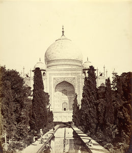 "Felice Beato:[Central View of the Taj Mahal],16x12""(A3)Poster"