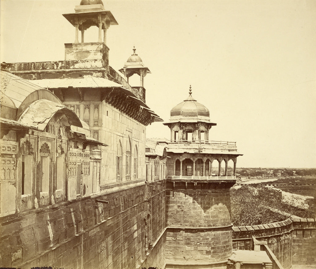 Felice Beato:[Summum Bourg in the Fort Agra],16x12