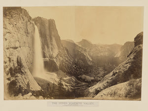 "Carleton Watkins:[The Upper Yosemite Valley. View from Eagle,16x12""(A3)Poster"