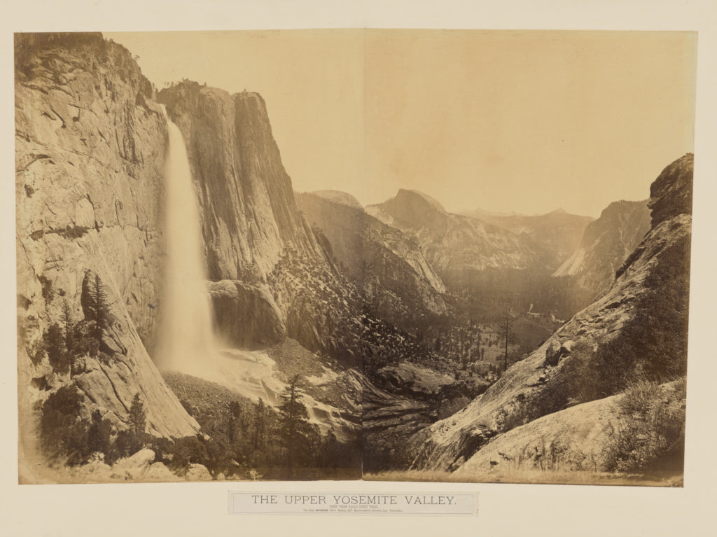 Carleton Watkins:[The Upper Yosemite Valley. View from Eagle,16x12