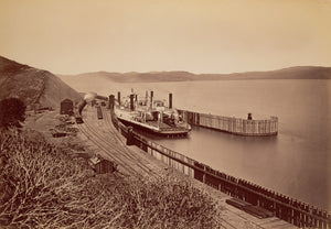 "Carleton Watkins:[The Ferryboat ""Solano""],16x12""(A3)Poster"