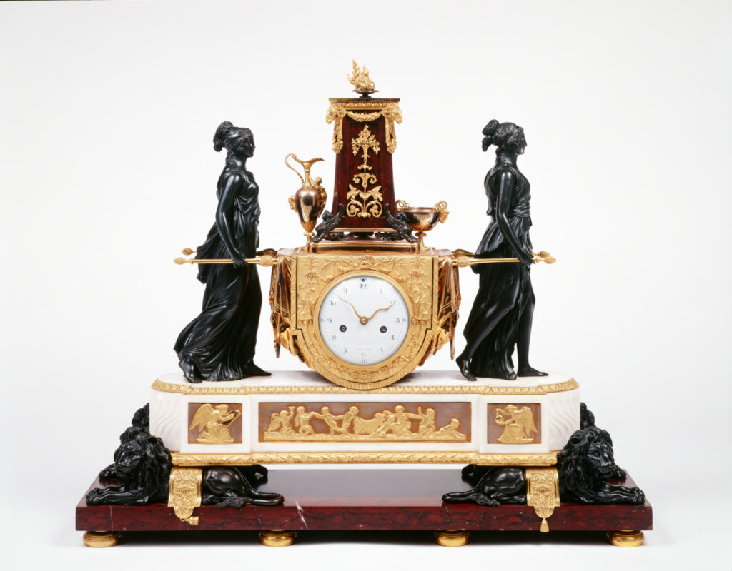 Pierre-Philippe ThomireClock case attributed to:Mantel Clock,16x12