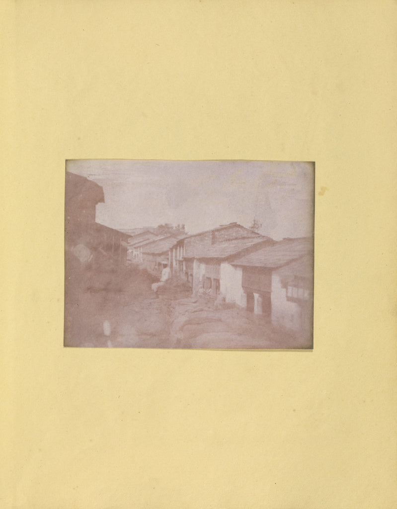 Unknown Artist maker, British, active India about 1843:[Village Str,16x12