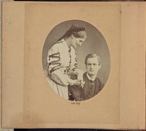 "Dr. John Adamson:[Aleck Bell with an Unidentified Woman],16x12""(A3)Poster"