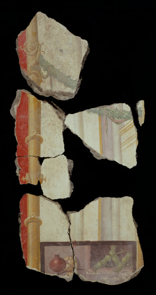 "Unknown:Fresco Fragments (8),16x12""(A3)Poster"