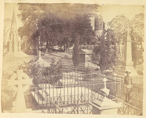 "Unknown:[The Residency Cemetery, Lucknow],16x12""(A3)Poster"