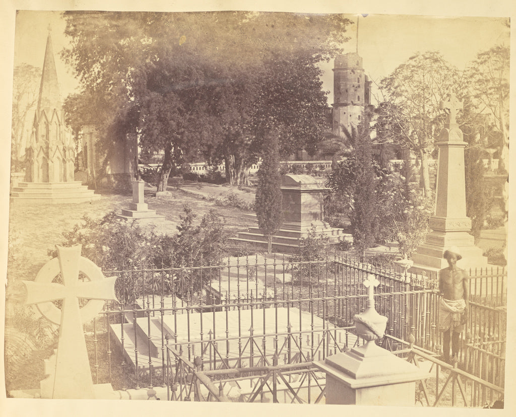 Unknown:[The Residency Cemetery, Lucknow],16x12