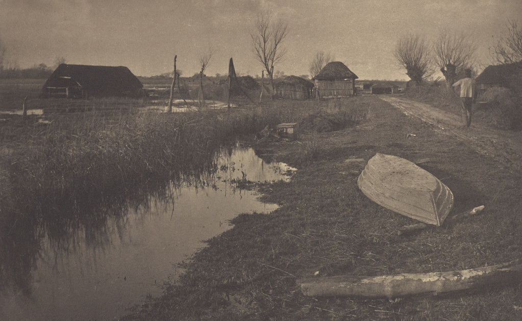 Peter Henry Emerson:'Twixt Land and Water,16x12