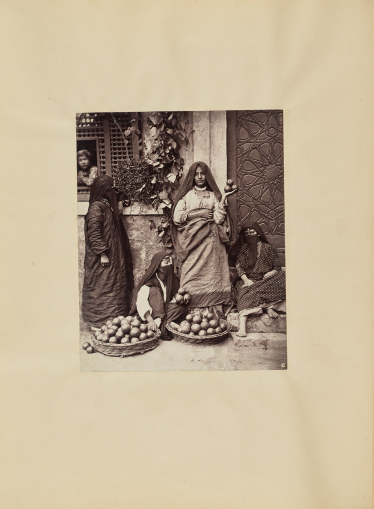 Carlo Naya:[Selling Fruit in Cairo],16x12