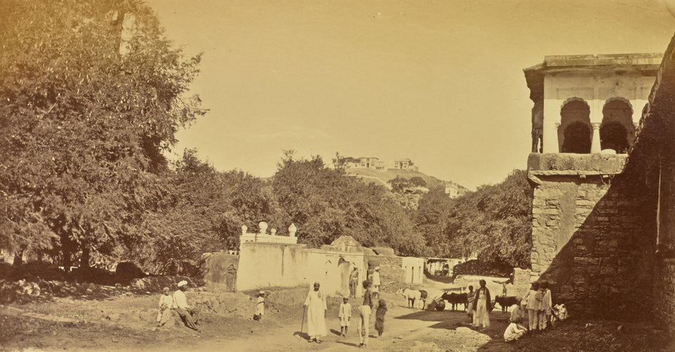 "Willoughby Wallace Hooper:[Village View near Maula Ali Hill,,16x12""(A3)Poster"