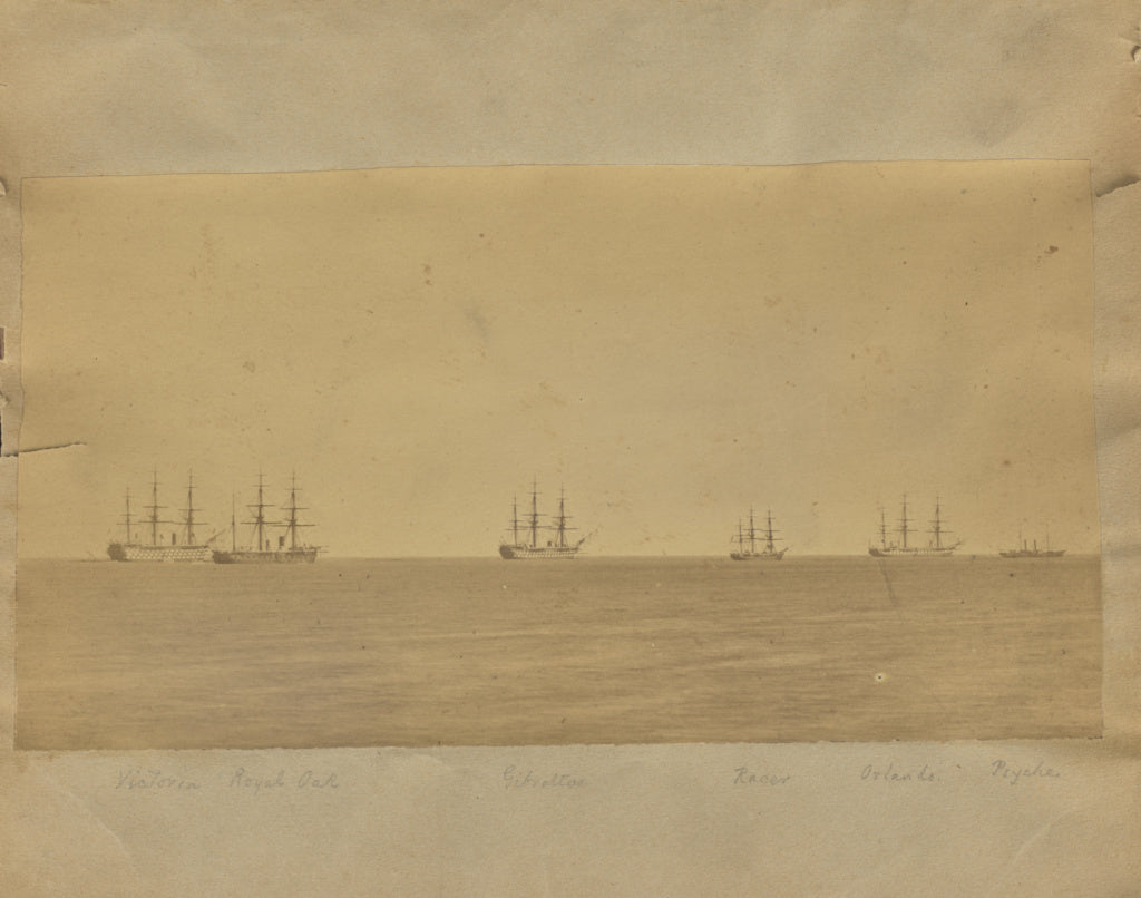 Unknown maker:[Ships at sea],16x12