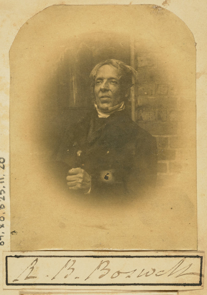 "Unknown maker:[Portrait of R. B. Boswell],16x12""(A3)Poster"