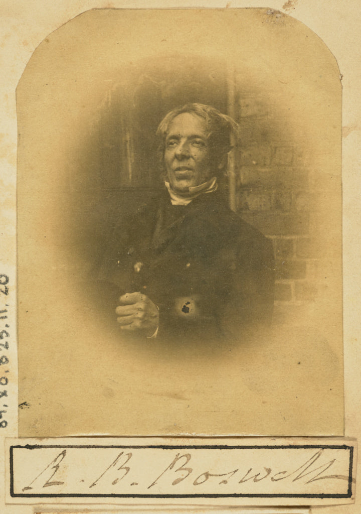 Unknown maker:[Portrait of R. B. Boswell],16x12