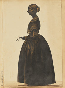 "Unknown:[Silhouette of a woman],16x12""(A3)Poster"
