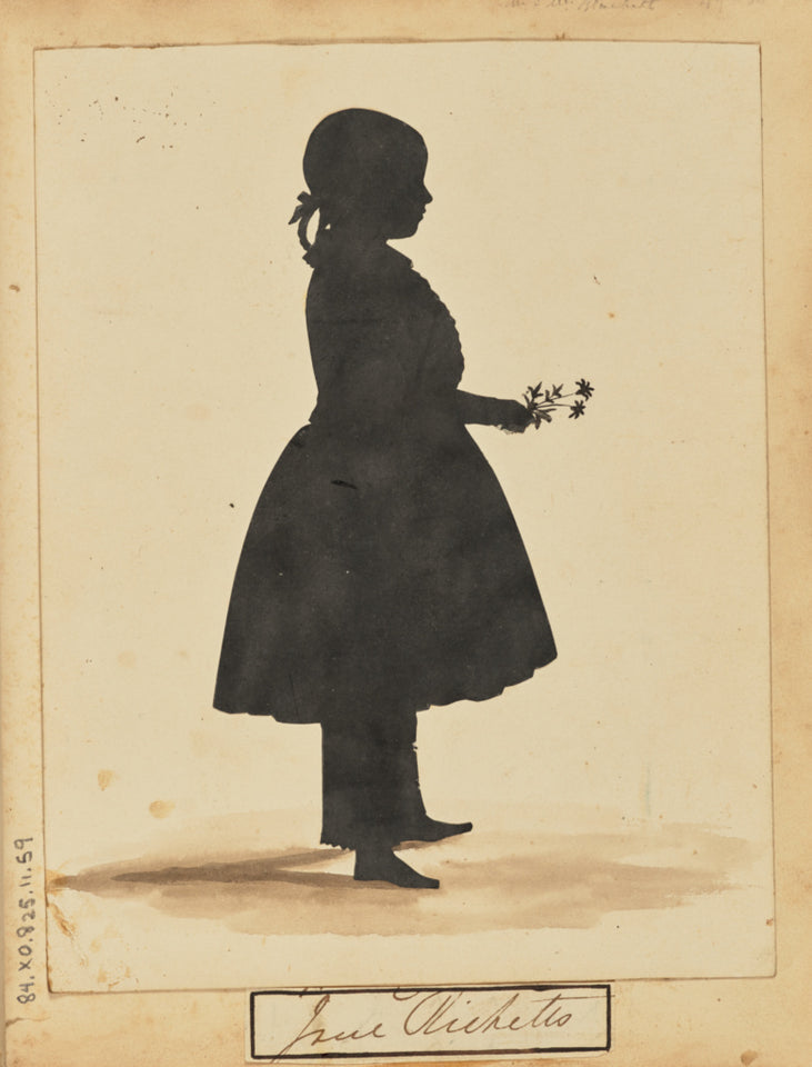 "Unknown:[Silhouette of a girl],16x12""(A3)Poster"