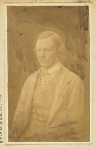 "Unknown maker:[Portrait of A. B. Boswell],16x12""(A3)Poster"