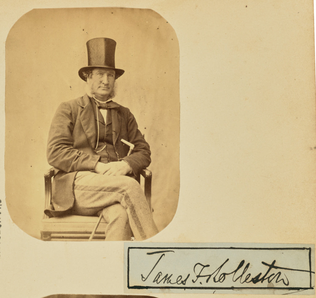 Unknown maker:[Portrait of James F. Rolleston],16x12