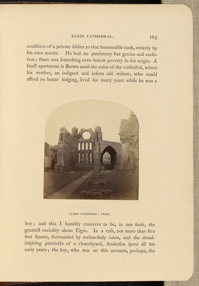 "George Washington Wilson:Elgin Cathedral; Choir,16x12""(A3)Poster"