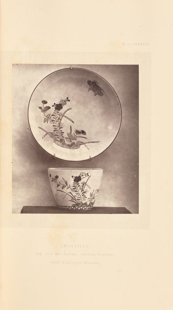 William Chaffers:[Teabowl and saucer],16x12