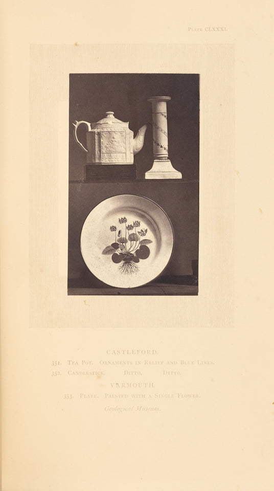 "William Chaffers:[Tea pot, candlestick, and plate],16x12""(A3)Poster"