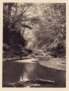 "Arthur Brown:[Stream and small waterfall],16x12""(A3)Poster"