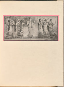 "Baron Adolf de Meyer:[Seven female dancers as nymphs],16x12""(A3)Poster"