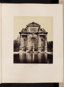 "edouard Baldus:Fontaine du Luxembourg (No. 61),16x12""(A3)Poster"