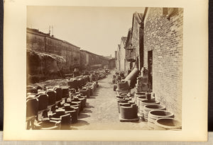 "Lai, Afong:[View of an alley bordered by brick buildings and,16x12""(A3)Poster"