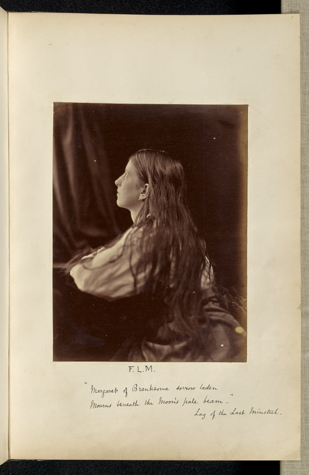 "Ronald Ruthven Leslie-Melville:""Margaret of Branksome sorrow,16x12""(A3)Poster"