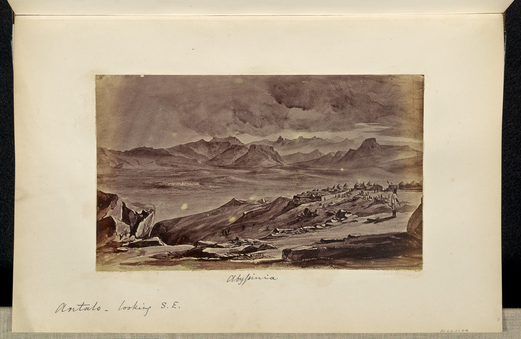 Unknown:Abyssinia. Antalo, Looking Southeast,16x12