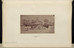 "Unknown:Abyssinia. Chelikut Church,16x12""(A3)Poster"