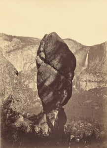 "Carleton Watkins:Agassiz Rock and the Yosemite Falls, from U,16x12""(A3)Poster"