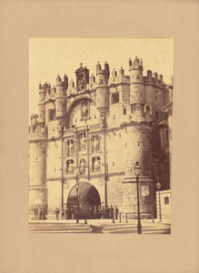 "Charles Clifford:[Castle Façade],16x12""(A3)Poster"