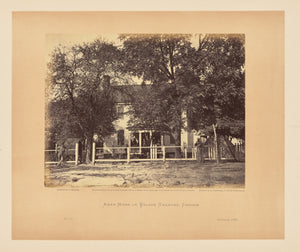 "John Reekie:Aiken House on Weldon Railroad, Virginia,16x12""(A3)Poster"