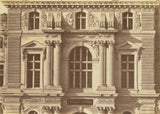 "edouard Baldus:[The First and Second Floors of the Pavillon ,16x12""(A3)Poster"