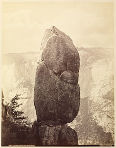 "Carleton Watkins:Agassiz Column, near Union Point,16x12""(A3)Poster"