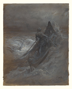 "Gustave Doré:After the Shipwreck - Design for an Illustrati,16x12""(A3)Poster"