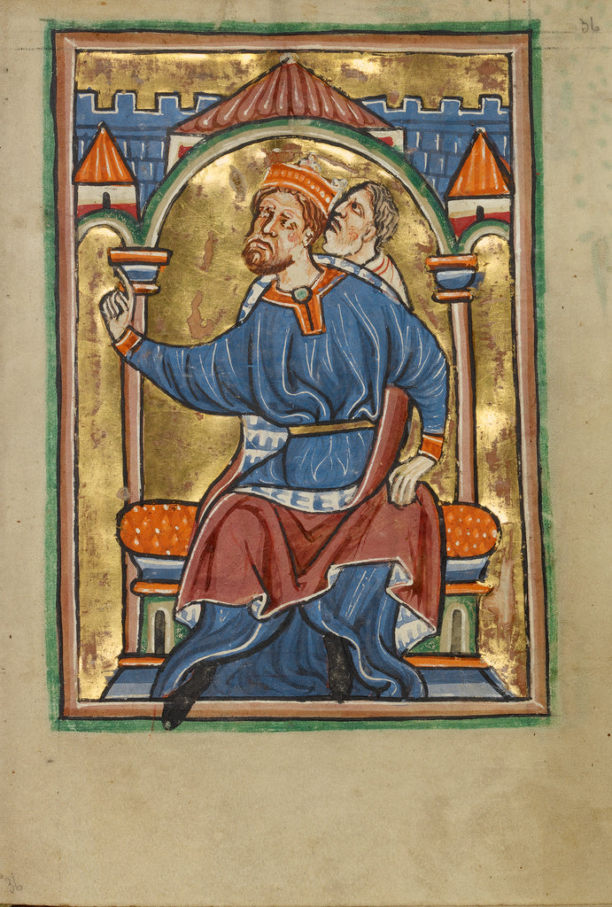 Unknown:Herod Enthroned,16x12