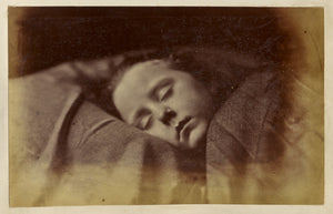 "Ronald Ruthven Leslie-Melville:[Sleeping Child],16x12""(A3)Poster"