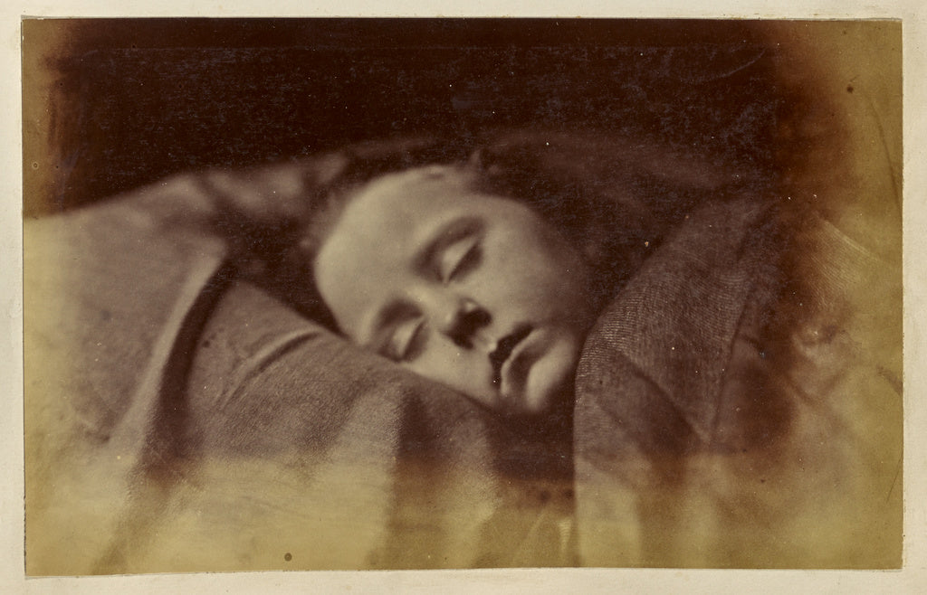 Ronald Ruthven Leslie-Melville:[Sleeping Child],16x12
