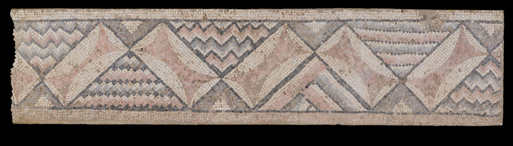 Unknown:Panel from a Mosaic Floor from Antioch (top left bor,16x12