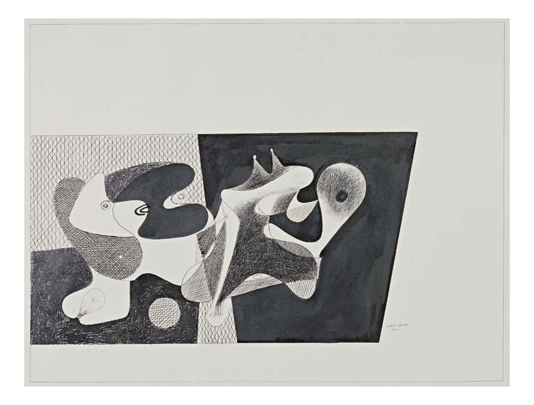 Arshile Gorky - Objects, 16x12