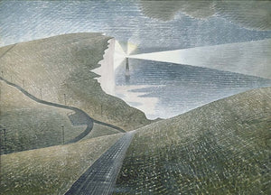 "Eric Ravilious: English Landscape, 16X12""(A3)POSTER"