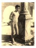 "Male Nudes #26, historic photo by Wilhelm von Gloeden, 16x12""(A3) Poster"