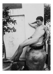 "Male Nudes #34, historic photo by Wilhelm von Gloeden, 16x12""(A3) Poster"
